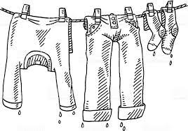 Wet Clothes Clip Art
