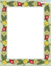 free printable christmas writing paper