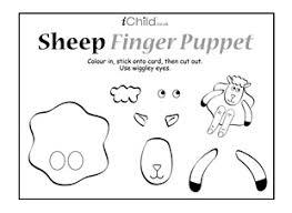 Sheep Finger Puppet Ichild