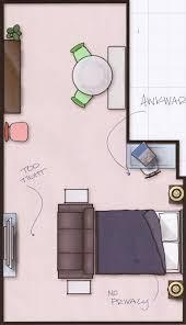 Studio Apartment Furniture Layouts Dazzling Ideas  Layout Tiny - Studio apartment furniture layout