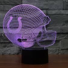 Led Lighting Indianapolis Nfl Indianapolis Colts 3d Led Light Lamp Tshirtnow