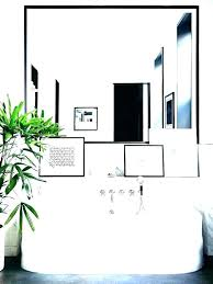 black framed bathroom mirrors. Metal Framed Bathroom Mirrors Mirror Brushed Nickel Black