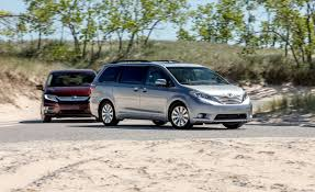 2018 Honda Odyssey Elite And 2017 Toyota Sienna Limited Premium