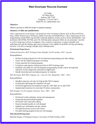 Resume Format For Experienced Web Developer Free Resume Example