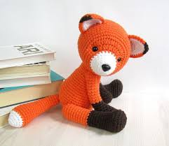 Crochet Fox Pattern Delectable 48Way Jointed Amigurumi Fox Crochet Pattern By Kristi Tullus