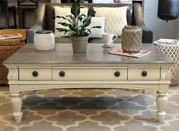 weathered coffee table chalk painted coffee table weathered coffee table diy