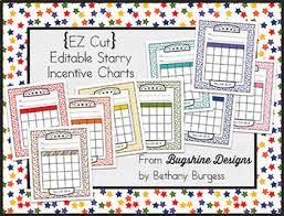Class Incentive Chart Printable Editable Incentive Chart Printables Starry