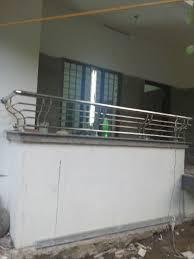 Kitchen Balcony Grill Design Stainless Steel Handrails Steel Charupadi Steel Grill