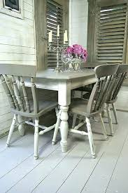 grey kitchen table chairs white dining painting old and pine extending