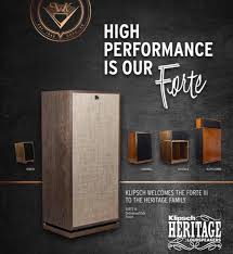 klipsch forte 3. image may contain: text klipsch forte 3