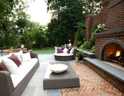 red brick furniture. Red Brick Patio Traditional With Outdoor Entertaining Woven Furniture