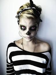 quick halloween makeup