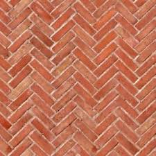 Herringbone Brick Pattern Custom Dolls House Miniature Old Herringbone Brick Pattern Cladding