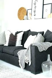 beige rug grey couch home improvement black sofa gray walls