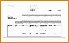Free Check Stub Template Printables Of 9 Printable Paycheck