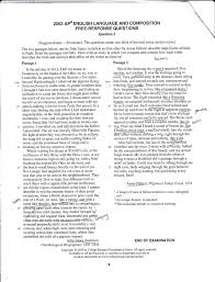 ap english language synthesis essay examples