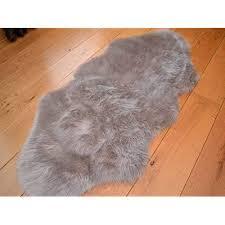 faux animal rug astounding fur co uk decorating ideas 14