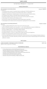 Security Clearance Resumes Info Assurance Engineer Senior Resume Sample Mintresume