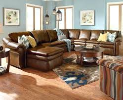 furniture brown leather sectional sofas and round coffee with great sectionals your havertys sofa corey residence