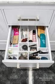 Diy Bathroom Drawer Organizer Hazel Gold Designs