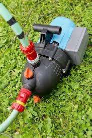 garden hose pump. Garden Hose And Water Pump Connection \u2014 Stock Photo S