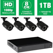 q see heritagehd series 8 channel 1080p 1tb video surveillance heritagehd series 8 channel 1080p 1tb video surveillance system 4 hd bullet cameras