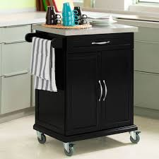 Kitchen Cabinet With Wheels Details About Sobuyar Wood Kitchen Cabinetkitchen Cart Trolley
