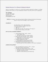 Resume For Students With No Work Experience Free Best Job Resume Magnificent Resume For High School Student With No Experience
