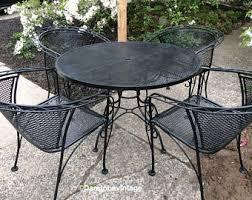 wrought iron vintage patio furniture. interesting furniture vintage perfect outdoor patio furniture and woodard wrought iron  throughout wrought iron vintage patio furniture