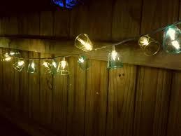 patio lights. Plastic Shot Glass Patio Lights