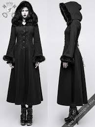 y 796bk fleur de lys gothic romantic long black women s coat by punk rave coats gothic metal gothic punk military and steampunk