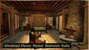 Master Bedroom Suite Windstad Manor Master Bedroom Suite At Skyrim Nexus Mods And