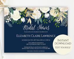Bridal Shower Invitation Templates Amazing Bridal Shower Invitation Template Editable Template Bridal Etsy