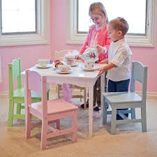 get ations top selling most por kids toddler wooden table chairs fun work activity station beautiful bright