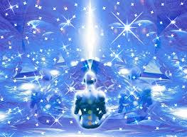 Resultado de imagen de luz azul celeste al planeta dorada