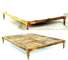simple platform bed how to build a frame wood king diy