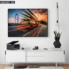 modern city uk england london eye bus hd photo poster picture wall art canvas print home on poster wall art uk with modern city uk england london eye bus hd photo poster picture wall
