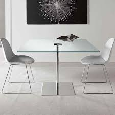 square glass dining table. Glass And Metal Dining Table By Tonelli Square X