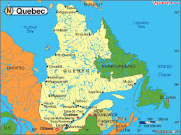 quebec map  travelsfinderscom ®