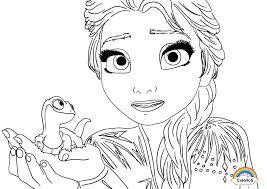 Planșe de colorat pentru fete de la 2 la 15 ani. Elsa Fise De Colorat Cu Printese Printesa Anna Olaf Si Elsa