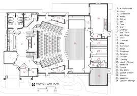 Theater Ground Plan Google Auditorium Architecture
