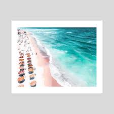 Aerial <b>Beach Print</b>, Aerial Photography, <b>Beach Print</b>, Blue <b>Ocean</b> ...