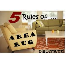Area Rug Living Room Placement