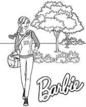 Free, printable barbie coloring pages, party invitations, printables and paper crafts for barbie fans the world over! Barbie Coloring Pages For Girls Topcoloringpages Net