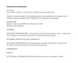 Resumes Formats New Resume Reference Page Format Sample With References Document On