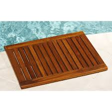 bathroom bamboo duck board kmart enchanting bathroom wooden bath wood bathroom mat home design ideas