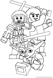 Small Picture Lego Yoda Star Wars Coloring Pages Enjoy Coloring Animation