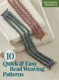Bead Weaving Patterns New 48 Quick Easy Bead Weaving Patterns EBook