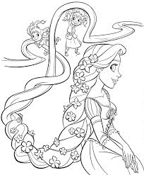Awesome Princess Coloring Pages Kids Design Printable Sheet