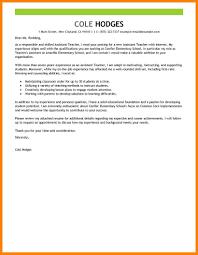 9 Cover Letter Teacher Assistant Offecial Letter